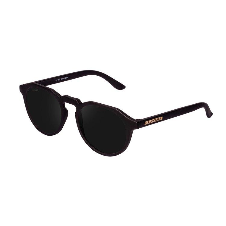 Óculos de sol Hawkers Warwick Carbon Black Dark com lentes pretas,  polarizadas 64e6cacc6a
